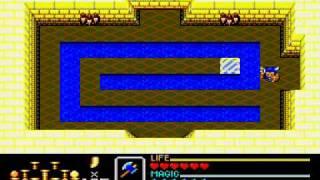 Golden Axe Warrior (Sega Master System) - Dungeons 1-4