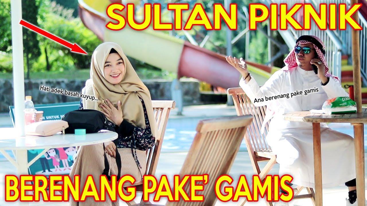 Download PRANK SHOLAWAT SULTAN PIKNIK !! PENGEN BERENANG PAKE' GAMIS