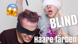 Wenn ein JUNGE dir blind deine HAARE färbt 😱 | Julienco