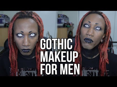 Gothic Makeup for Men (fast & easy)