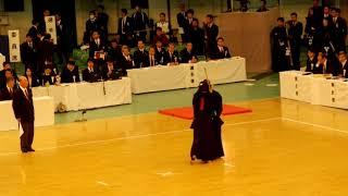 65th All Japan Kendo Championship 08   Round 1, Shimada vs Fukuma