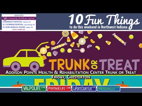 10 Fun Things October 19 - 21, 2018