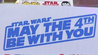 Star Wars Day celebrated as it's May 4