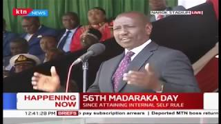 DP Ruto thanks President Kenyatta for allowing counties host National celebrations #MadarakaDay2019
