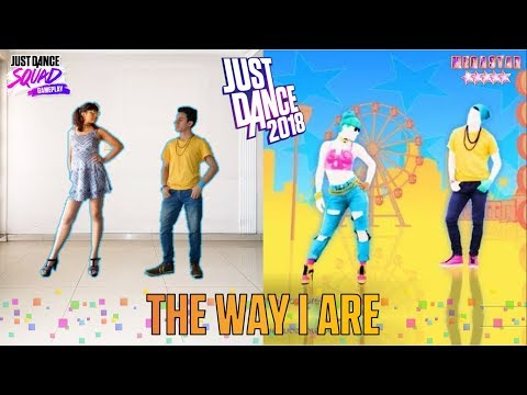 Just Dance 2018 - The Way I Are (Dance With Somebody).