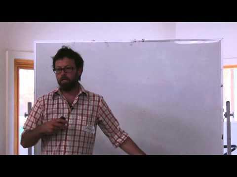 Craig Byatt @ earthship Australia weekend workshop, CERES September 13, 2014
