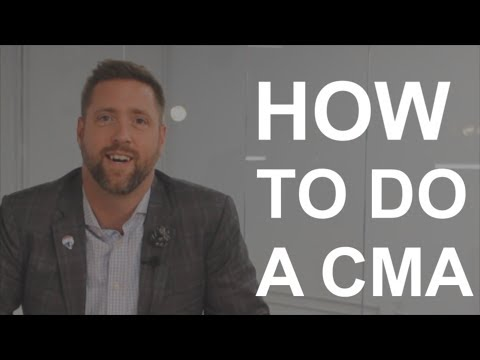 How To Do A CMA (Comparative Market Analysis) | Real Estate Agent Tips