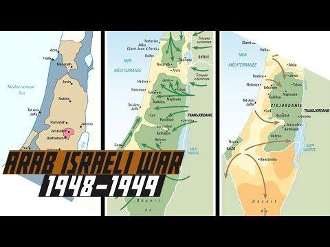 First Arab-Israeli War 1948 - Political Background - COLD WAR