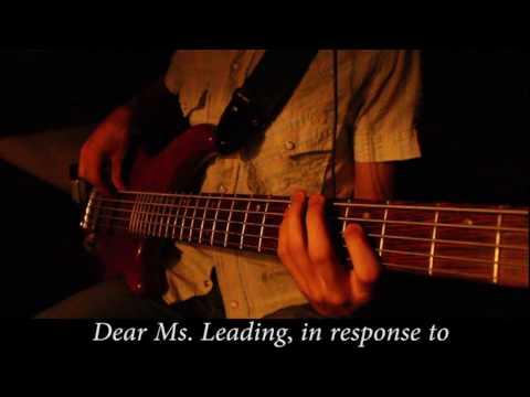 Dear Ms. Leading - Bass Cover (The Dear Hunter)