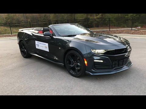 2019 Chevrolet Camaro SS Convertible Review