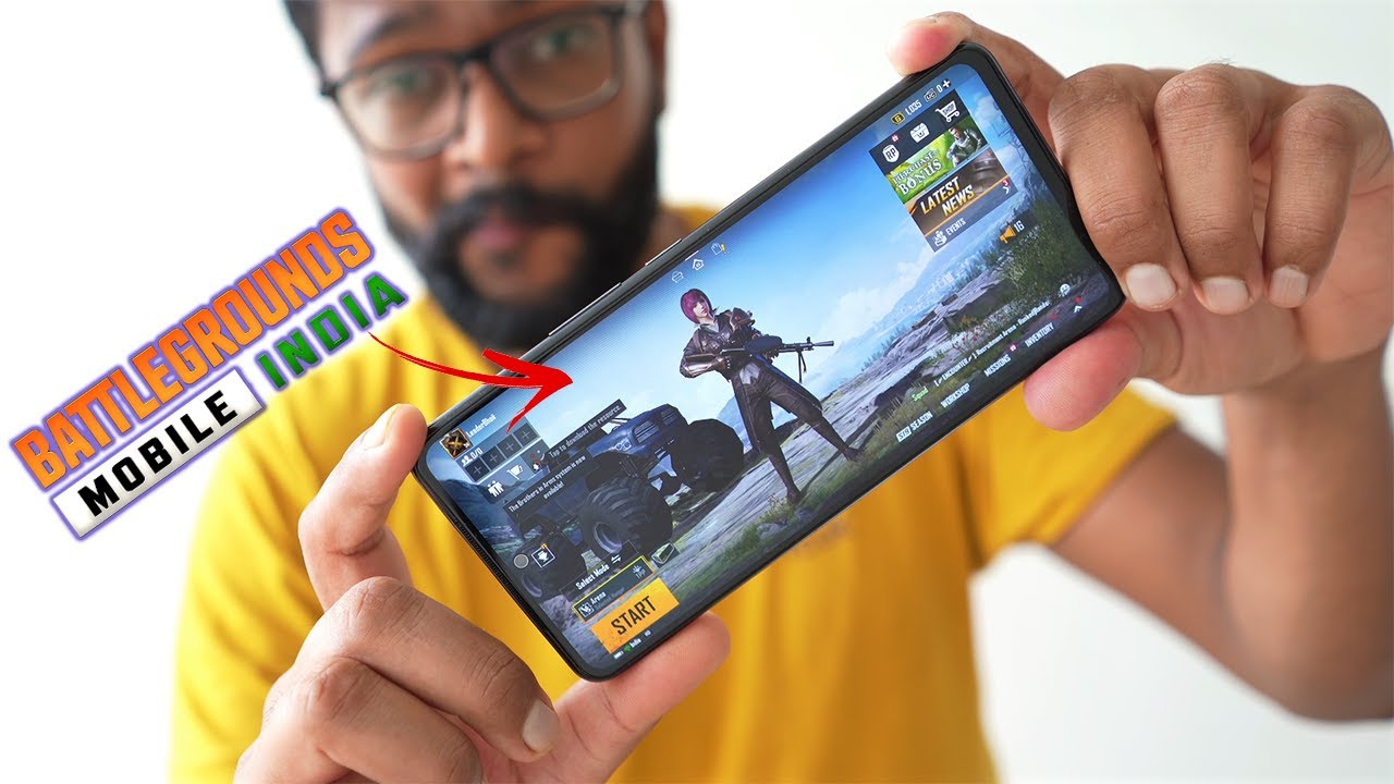 I Played Battlegrounds Mobile INDIA with PUBG ID - BGMI is Here !