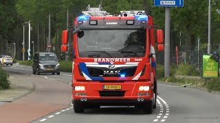Nieuwe Tankautospuit 17-1731 voor Brandweer Rozenburg! #1318
