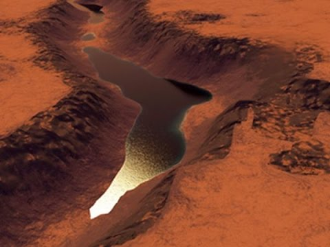 NASA finds evidence of water on Mars 2015. - YouTube