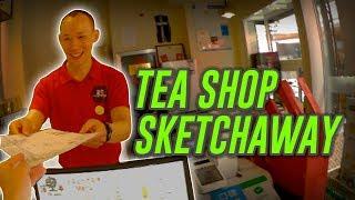 Getting Stared at + Tea Shop SKETCHAWAY (Sketch giveaway)