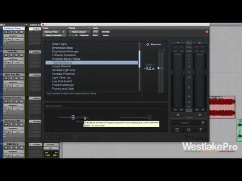 Classical Mix Ozone 7 Elements by iZotope Demo | Westlake Pro