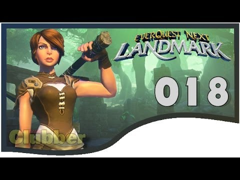 Everquest Next Landmark Gameplay #018 – Besuch bei Pokerkeks – EQNext – MMORPG – Deutsch