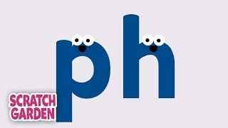 The PH Sound | Phonics Video | Scratch Garden