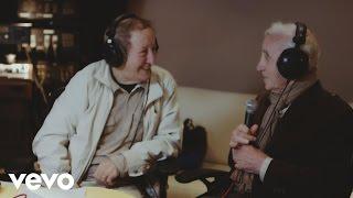 Idir en duo avec Charles Aznavour - La bohème (interview en studio)