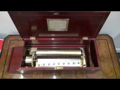 Nicole Freres: Two per turn antique music box