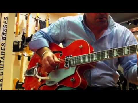 GRETSCH 5420T ELECTR.(2014) + Fender hot rod deluxe III (tested in shop).)