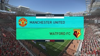 Manchester United vs Watford - Premier League Final Day - PES 2018 Gameplay