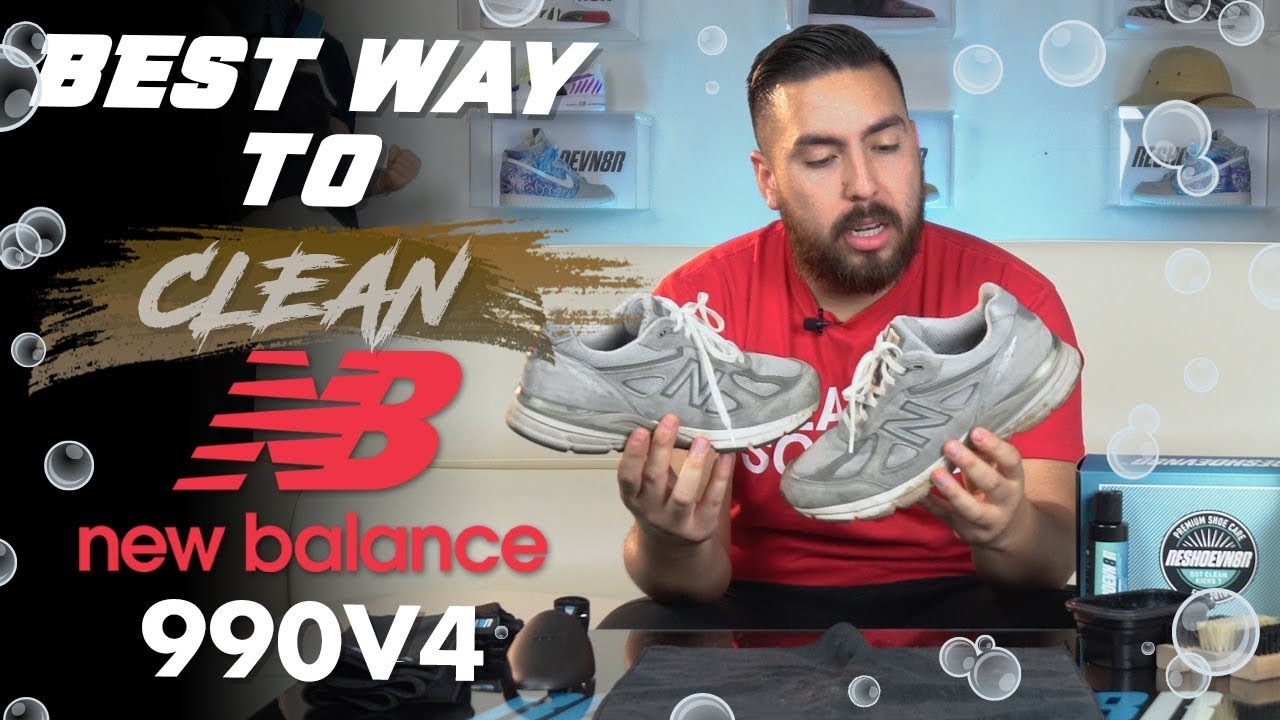 to clean Suede New Balance 990v4