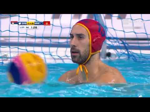European Championship Final Match Serbia vs Montenegro Belgrade 2016