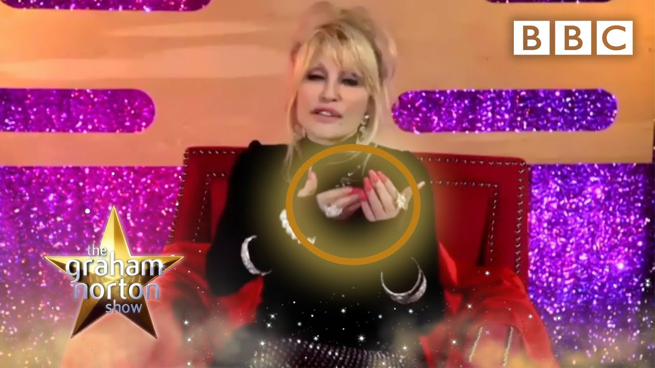 Download Dolly Parton used her NAILS to play the song '9 to 5'! @The Graham Norton Show - BBC