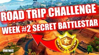 Fortnite - Road Trip Challenge Secret Battle Star Location Week #2