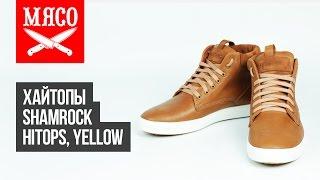 Хайтопы Shamrock - HiTops, Yellow. Обзор