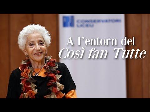 Così fan tutte - course with Teresa Berganza - Liceu Conservatory