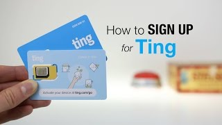 How to Sign Up for Ting! | March 2017
