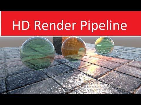 HD Render Pipeline for Beginners  Guide
