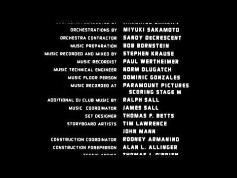 Clockstoppers (2002) End Credits