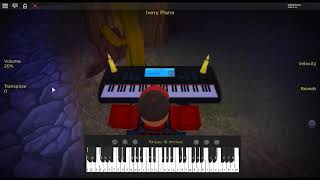 Thotiana - Famous Cryp by: Blueface on a ROBLOX piano.