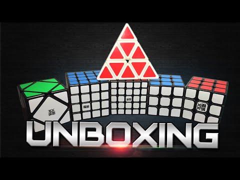 MoYu Pyraminx & YJ GuanLong Unboxing + More