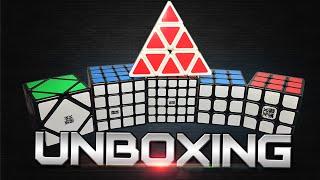 moyu pyraminx yj guanlong unboxing more