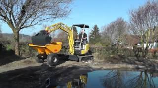 MBN MiniDump - Trailer ( Minibagger Dumper / Mini Dumper / excavator dumper )(, 2016-04-07T10:29:08.000Z)