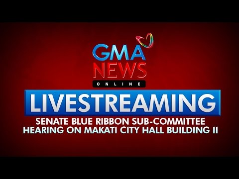 LIVESTREAM: Senate hearing on Makati City Hall Building II (April 16, 2015)