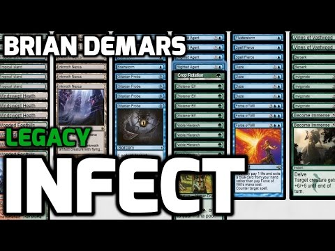 channel demars legacy infect deck tech amp match 1 youtube