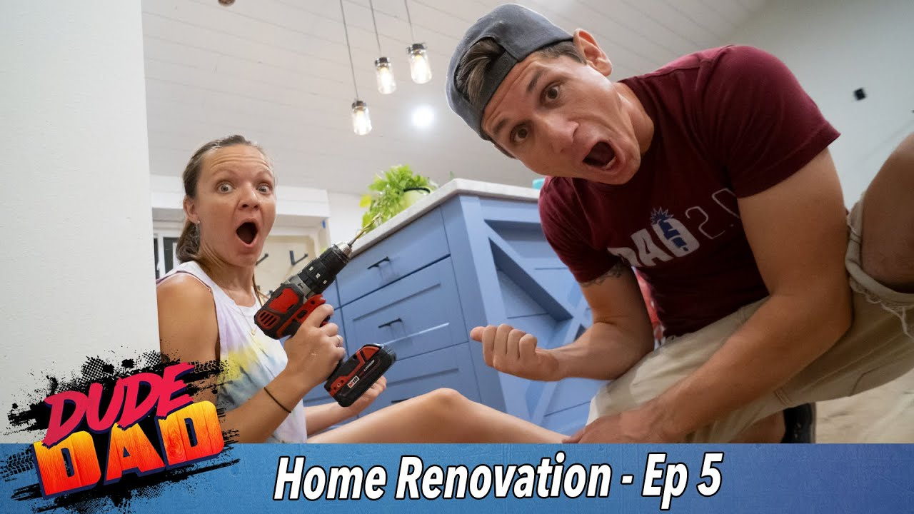 The Island! - Our Home Renovation - Ep. 5