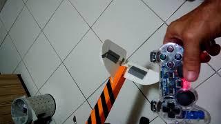 Controlando aeromodelo com controle de PS2 modificado com Arduino
