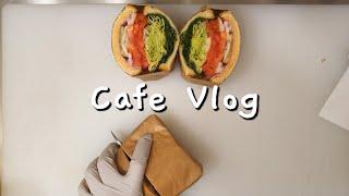 [ENG] cafe vlog/ 샌드위치 카페 사장님 일…