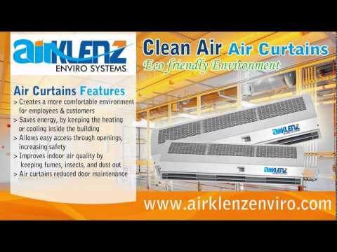 Curtains Ideas air curtains for restaurants : Air curtains for Cleanroom Restaurants & Hospitals by AirKlenz ...