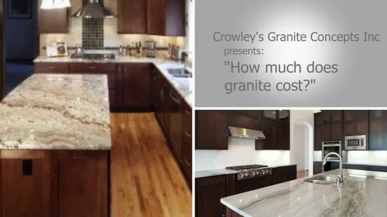how much does granite cost youtube. Black Bedroom Furniture Sets. Home Design Ideas