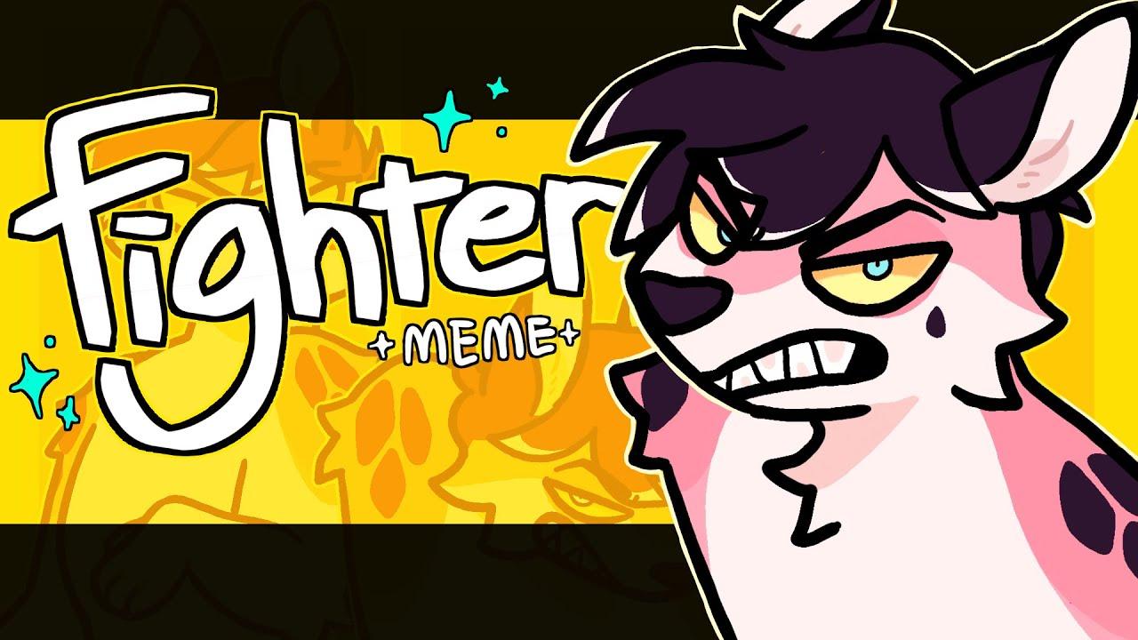 Fighter meme || flipaclip