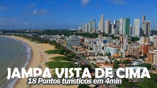 João Pessoa Vista de Cima - 18 lugares/Pontos Turísticos em 4min - Vídeo especial de 433 anos