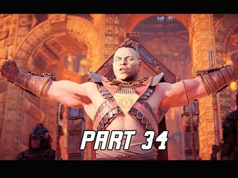 Horizon Zero Dawn Walkthrough Part 34 - SUN-RING (PS4 Pro Let's Play Commentary)