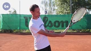 Уверенная игра у сетки в теннисе. Часть 11: Реверс
