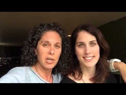 Dana Goldberg and Erin Foley's Message for Ladies & Laughter fragman
